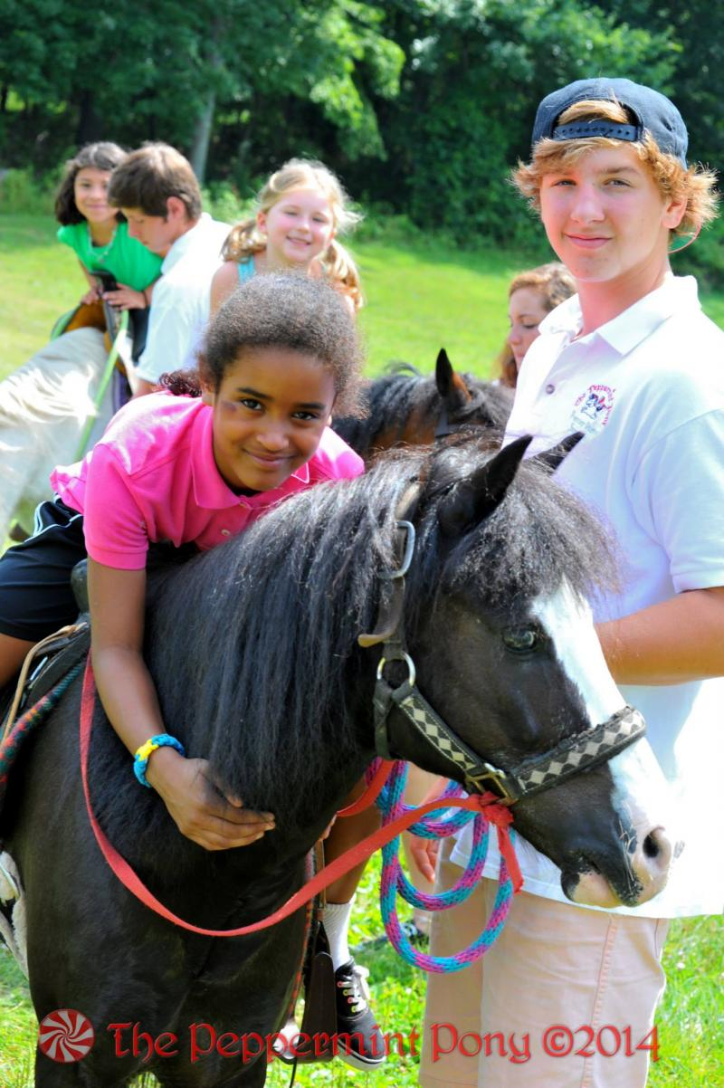 The Peppermint Pony loves Summer Camp - have us do riding lessons for you
