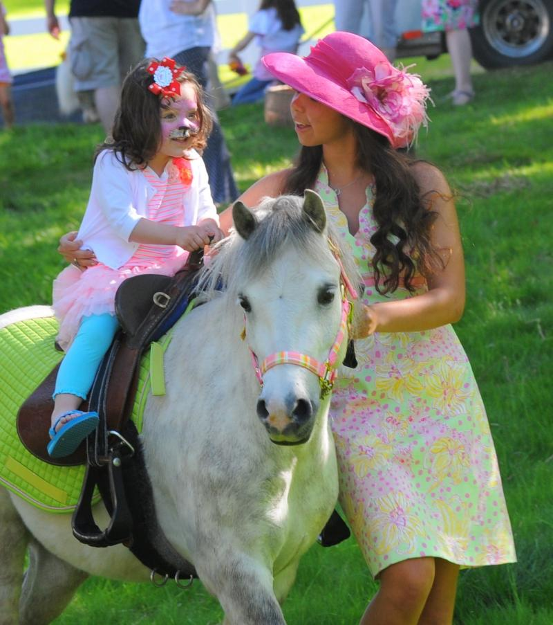 Safe Pony Rides at your Child's Lilly Pulitzer Peppermint Pony Party